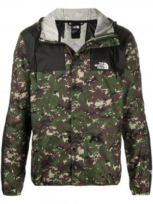 Куртка 1985 на молнии The North Face. Цвет: зеленый