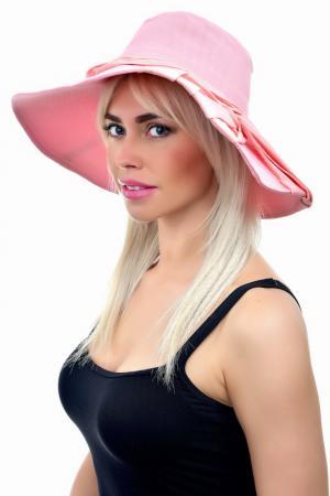 Шляпа Tonak. Цвет: персиковый