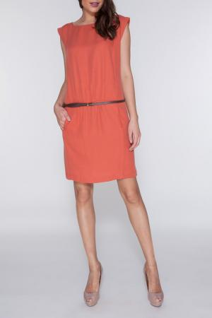Платье Vis-a-vis. Цвет: terracotta