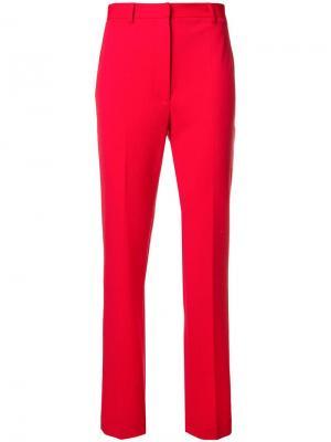 High waist cigarette pants Hache. Цвет: красный