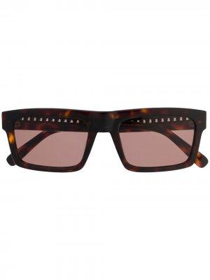 Солнцезащитные очки Falabella Abana Stella McCartney Eyewear. Цвет: коричневый