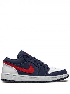 Кроссовки Air  1 Low SE Jordan. Цвет: синий
