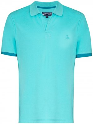 Рубашка поло Palatin Vilebrequin. Цвет: синий