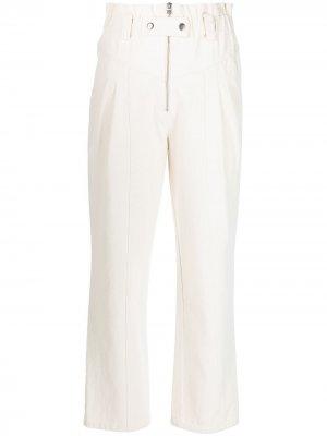 Зауженные джинсы Phillipa Sea. Цвет: нейтральные цвета