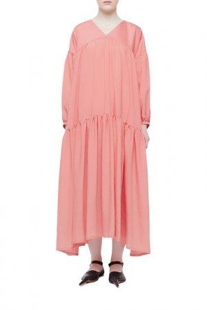 Платье Cyrille Gassiline. Цвет: коралловый