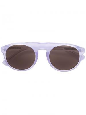 Солнцезащитные очки 91 C11 Dries Van Noten Linda Farrow. Цвет: розовый