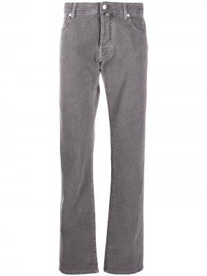 Прямые джинсы Jacob Cohen. Цвет: серый