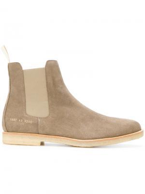 Ботинки-челси Common Projects. Цвет: серый