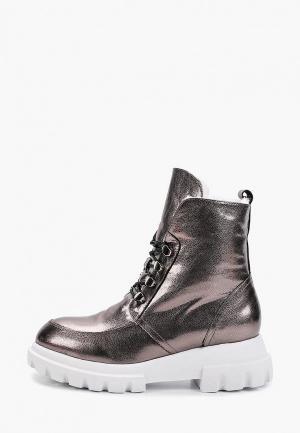 Ботинки Balex. Цвет: серебряный