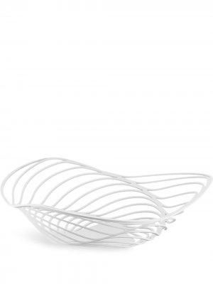 Trinity fruit bowl, white Alessi. Цвет: белый