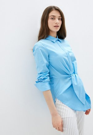 Рубашка Silvian Heach. Цвет: голубой