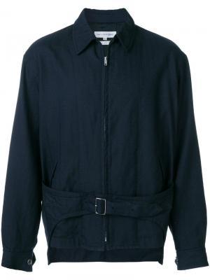Куртка с пряжкой на ремешке SHIRT Comme Des Garçons Pre-Owned. Цвет: синий