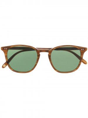 Солнцезащитные очки Clark Garrett Leight. Цвет: коричневый
