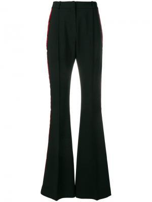 Расклешенные брюки с боковыми полосками Faith Connexion. Цвет: черный