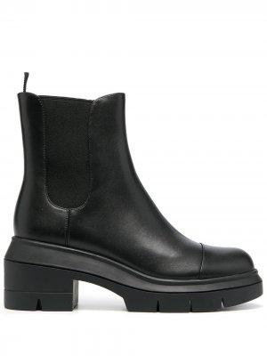 Ботинки Norah Stuart Weitzman. Цвет: черный