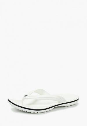 Сланцы Crocs. Цвет: белый
