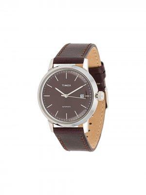 Наручные часы Marlin 40 мм TIMEX. Цвет: красный