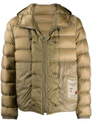 Куртка-пуховик Ten C. Цвет: нейтральные цвета