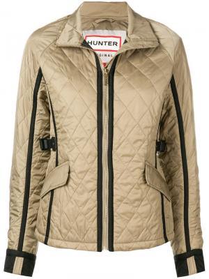 Quilted zipped jacket Hunter. Цвет: нейтральные цвета