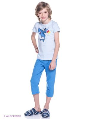 Пижама Avanti Piccolo. Цвет: голубой, светло-голубой