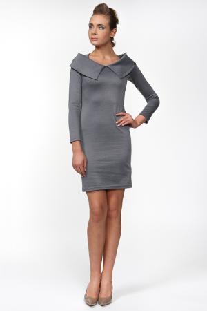 Платье Lussotico. Цвет: серый