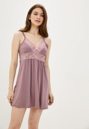 Сорочка ночная Dansanti. Цвет: розовый