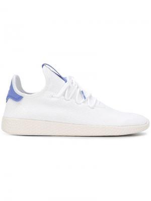 Теннисные кроссовки Hu Adidas By Pharrell Williams. Цвет: белый