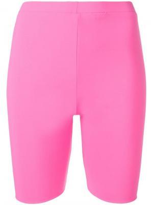Велосипедные шорты Seen. Цвет: розовый