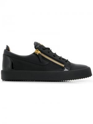 Кроссовки Frankie Giuseppe Zanotti. Цвет: черный