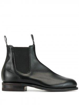 Ботинки челси R.M.Williams. Цвет: черный