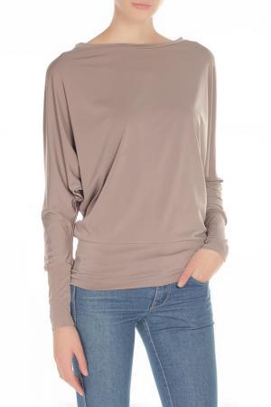 Блузка Летучая Мышь Alina Assi. Цвет: бежевый