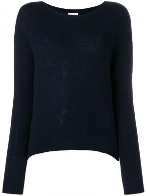 Ribbed knit jumper Alysi. Цвет: синий