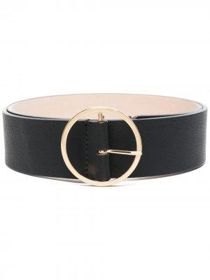 Ремень с круглой пряжкой B-Low The Belt. Цвет: черный
