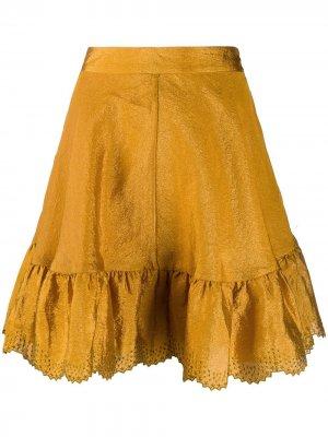 Юбка Toy Stine Goya. Цвет: золотистый