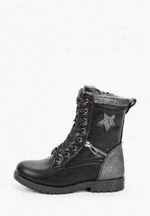 Ботинки Antilopa. Цвет: черный