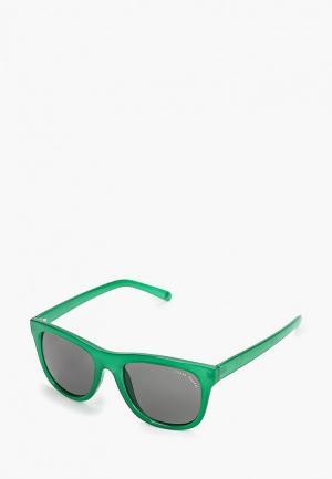 Очки солнцезащитные Cheap Monday. Цвет: зеленый