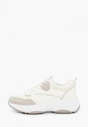 Кроссовки Ideal Shoes. Цвет: белый