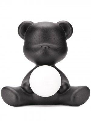 Лампа в виде медведя Qeeboo. Цвет: черный