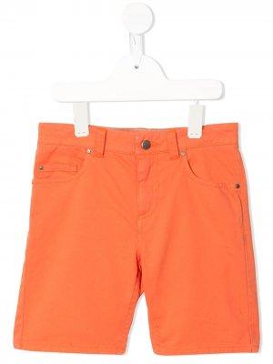 Шорты Dexter с карманами Velveteen. Цвет: оранжевый