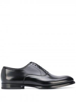 Doucals туфли на шнуровке Doucal's. Цвет: черный