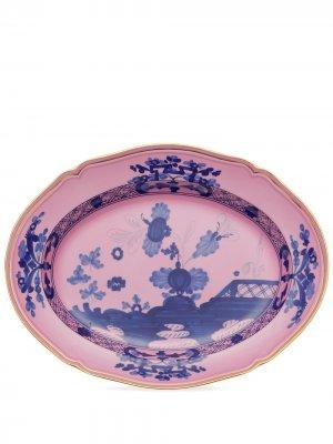 Сервировочное блюдо Oriente Italiano (38 см) GINORI 1735. Цвет: розовый