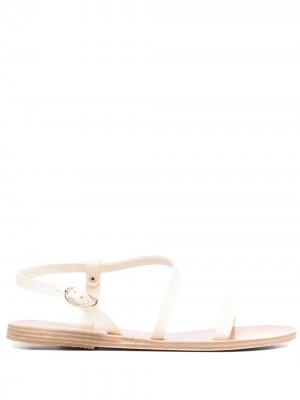 Сандалии с пряжками Ancient Greek Sandals. Цвет: белый