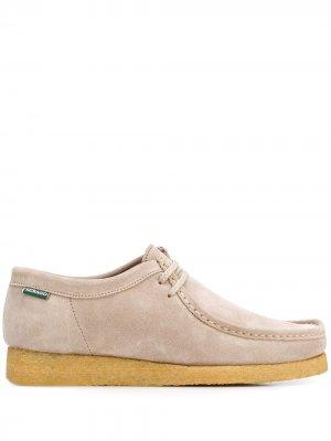 Лоферы на шнуровке Sebago. Цвет: коричневый