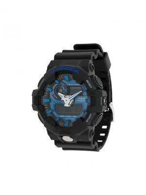 Часы GA-710-1A2ER G-Shock. Цвет: черный