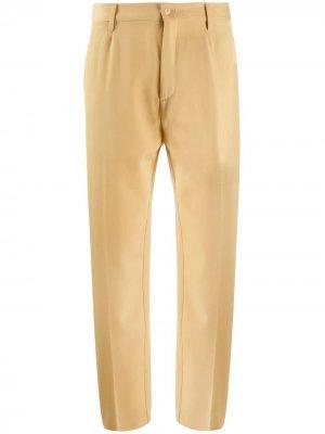 Укороченные брюки строгого кроя Forte. Цвет: нейтральные цвета