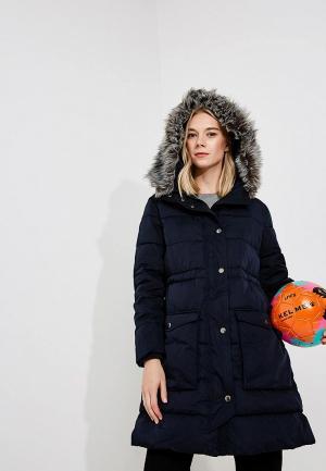 Куртка утепленная Emporio Armani. Цвет: синий