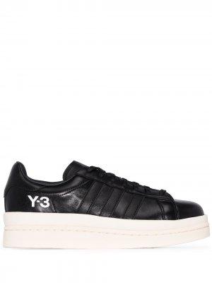 Кроссовки Hicho на платформе Y-3. Цвет: черный