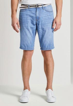Шорты джинсовые Tom Tailor. Цвет: голубой