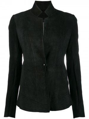 Приталенная куртка Isaac Sellam Experience. Цвет: черный