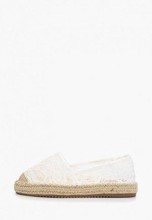 Эспадрильи Catisa. Цвет: белый